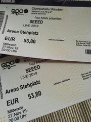 SEEED 2 x Stehplatz 27