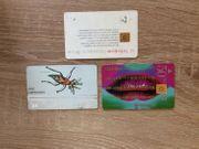 3 Telefonkarten 50 DM