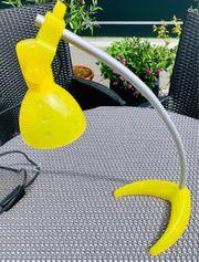 Schreibtischlampe gelb