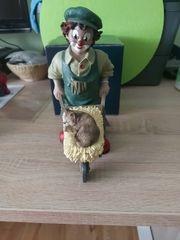 Gilde Clown Florian mit Katze