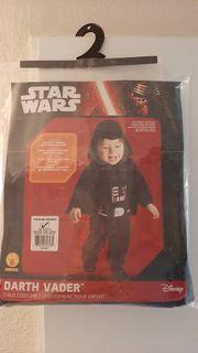 Baby Kostüm Darth Vader neu