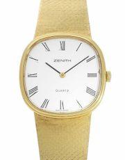 Zenith Vintage Quartz Gelbgold Uhr