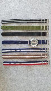 Fossil Uhr mit 7 Nato