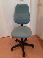 Bürostuhl - Stuhl - grün - sehr guter