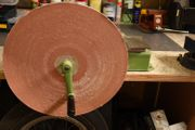 Riesen Schleifgerät 450mm Durchmesser manuell