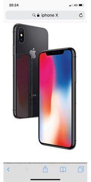 IPhone X 256 GB VERKAUFT