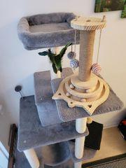 Katze Kratzbaum Spielzeug