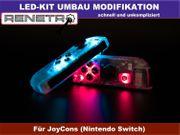 Nintendo Switch LED Kit Umbau