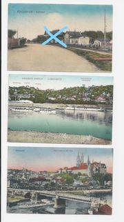 Postkarten aus Sachsen v 1924