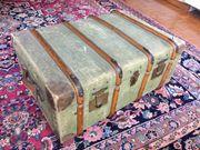 Koffer Reisekoffer ca 1870 antiker