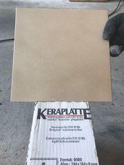Steinzeugplatten frostsicher 9 qm