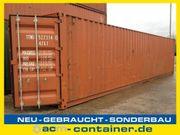 40 fuß Seecontainer gebraucht - A-Klasse