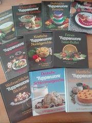 Tupper Kochbücher 10 Sück