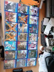 Sehr viele PS4 Spiele zu
