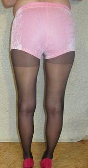 Hotpants Hose kurze Hose Frau