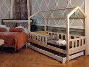 Hausbett Mit Barriere für ein