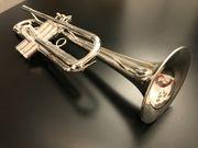 B Trompete Schilke X3 versilbert