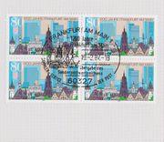 Briefmarken-Gedenkblatt 1200 Jahre Frankfurt am