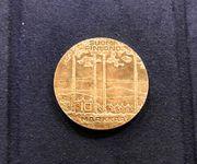 Silbermünze 10 Markkaa 1975 Finnland