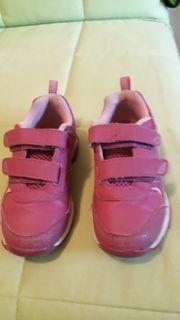 Mädchen Sneaker rosa Größe 27