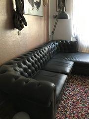 Sofa grau Ecksofa Kare