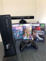 XBOX Kinect mit verschiedene Spiele