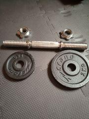 Verkaufe Kurzhanteln Gewichte