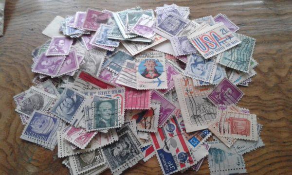 Briefmarken USA alt