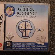 Nintendo DS Spiel Gehirn Jogging