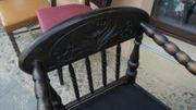 Holz-Sitzgarnitur antike Möbel handwerklich restauriert