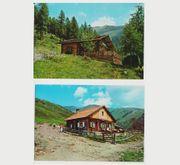 2 Postkarten aus den Dolomiten