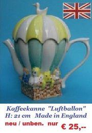 Geschirr Kaffeekanne Teller usw Made