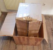 Verschenke mehrere Kartons Abholung