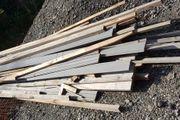 diverse Holzlatten