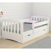 Kinderbett mit Schubkasten Abnehmbares Schutzgeländer