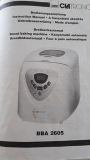 Brotbackautomat Clatronic
