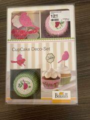 Cupcake Dekoset Vogel NEU von