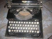 Alte Schreibmaschine Marke Royal Made