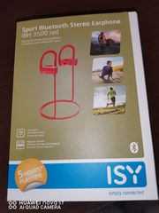 ISY Sportkopfhörer IBH-3500 RED Bluetooth