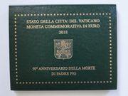 Vatikan 2 Euro-Gedenkmünze 2018 - 50