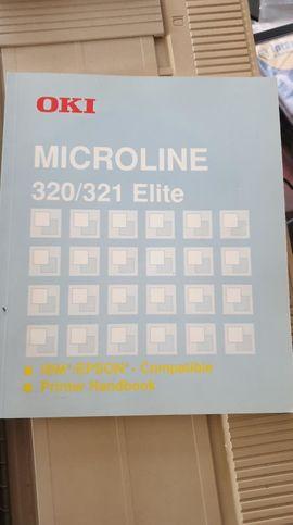 Sonstige Drucker, Plotter - Nadeldrucker OKI Mircoline 321 Elite