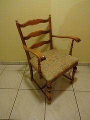 Gut erhaltener 50er Jahre Armlehnstuhl