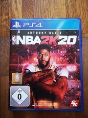 PS4 Spiel NBA 2K 20