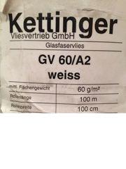 Kettinger Glasfaservlies GV 60 A2
