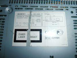 Sony CDXL48X EQ3 CD Tuner: Kleinanzeigen aus Vaihingen - Rubrik Auto HiFi/-Boxen