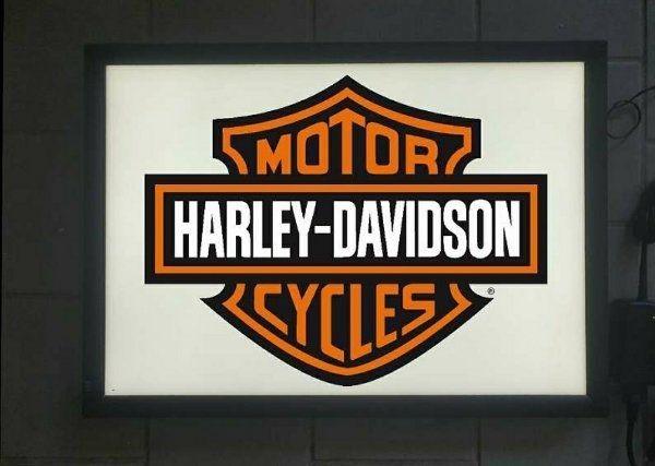 Harley Davidson LED Leuchtschild