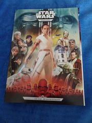 Star Wars Glitzer-Karten-Album bestückt mit