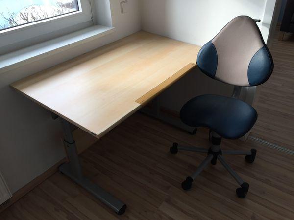 PAIDI Schreibtisch mit Drehstuhl zu