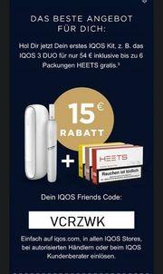 IQOS 15 Euro aktueller Gutscheincode