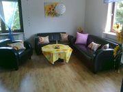 Sofa 3-teilig mit Couchtisch und